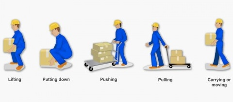 manual handling activity questionnaire manual handling 1 what is manual handlinga pushing, pulling, bending, stretching, lifting b only lifting c using machines d.