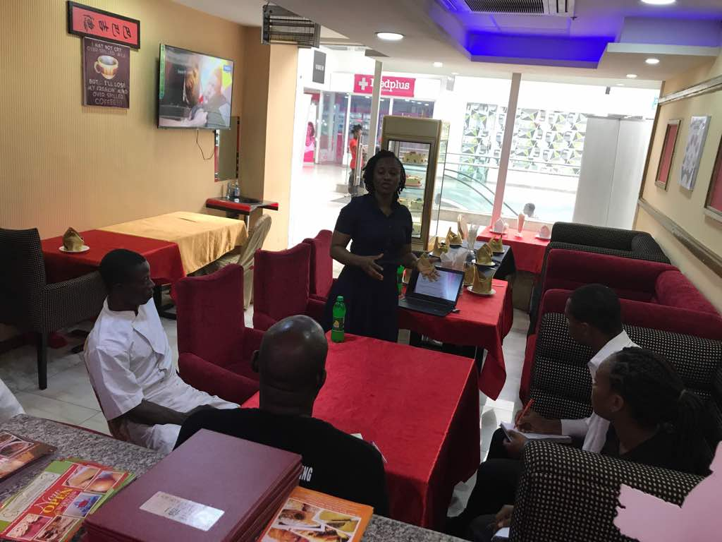 Food Handlers/HACCP Training at Triple J Chinese Restaurant
